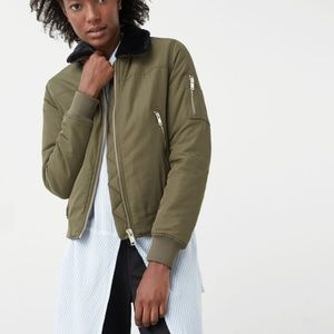 Mango bomber jacket size small